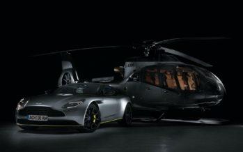 Το υπερπολυτελές ελικόπτερο της Aston Martin
