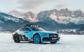 Για χιονοπόλεμο ετοιμάζεται η Bentley Continental GT