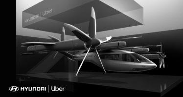 Ιπτάμενο ταξί από τη Hyundai (video)