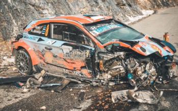 Ατύχημα με 180 χλμ./ώρα για αγωνιστικό Hyundai-Σώθηκε το πλήρωμα (video)