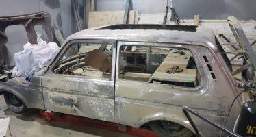 Το πιο χαμηλωμένο Lada Niva στον κόσμο! (video)