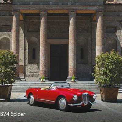 Lancia Aurelia B24 Spider, (10)