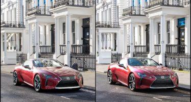 Ποια φωτογραφία του Lexus είναι αληθινή και ποια ψηφιακή;
