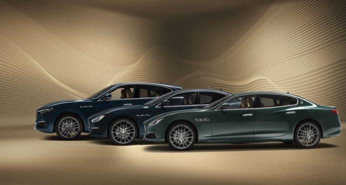 Εκατό πολύ ξεχωριστές Maserati