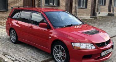 Πωλείται σπάνιο station-wagon Mitsubishi Lancer Evo IX