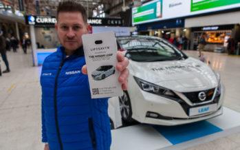 H Nissan βρήκε τρόπο να είναι πάντα φορτισμένο το smartphone σας