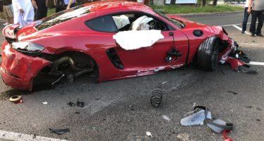 Ποινές φυλάκισης με αναστολή για το τρακάρισμα μιας Porsche με Ferrari