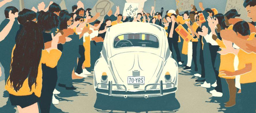 Δάκρυα και συγκίνηση για το τέλος του Volkswagen Beetle (video)