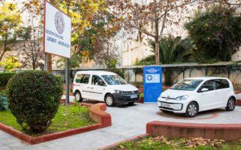 O Δήμος Αθηναίων απέκτησε δυο οικολογικά Volkswagen