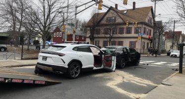 Τράκαραν μεταξύ τους δυο κλεμμένες Lamborghini