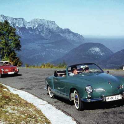 Two years after the coupé, the first Volkswagen Karmann Ghia Ty