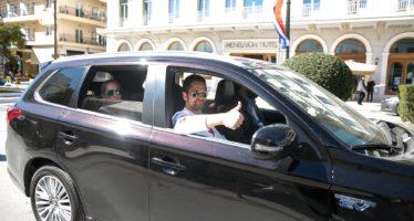 Το αυτοκίνητο που μετέφερε τον Τζέραρντ Μπάτλερ στην Ελλάδα