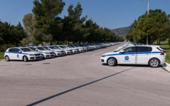 Στο στόλο της Ελληνικής Αστυνομίας 264 νέα οχήματα