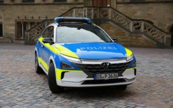 Το περιπολικό Hyundai NEXO κινείται με υδρογόνο