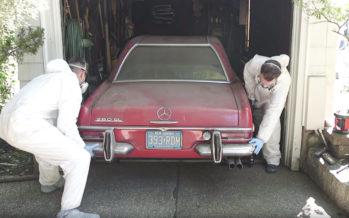 Mercedes ήταν σε καραντίνα για 37 χρόνια (video)