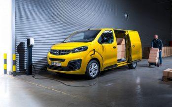To πρώτο ηλεκτροκίνητο βαν της Opel