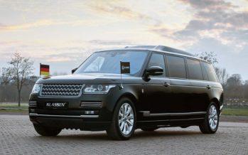 Λιμουζίνα Range Rover με θωράκιση αξίας 750.000 ευρώ (video)