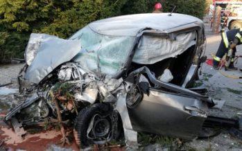 Suzuki Swift πέταξε και προσγειώθηκε ανώμαλα (video)