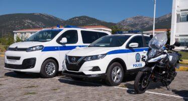 Νέα περιπολικά και μοτοσυκλέτες για την Ελληνική Αστυνομία