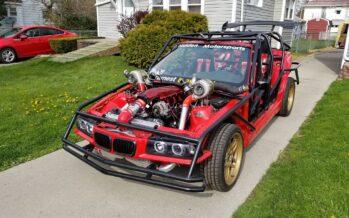 Μια «γυμνή» BMW με ισχύ 1.000 ίππων (video)
