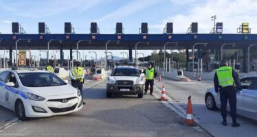 Απαγόρευση μετακινήσεων-ξηλώθηκαν 29 πινακίδες οχηµάτων την Πρωτομαγιά