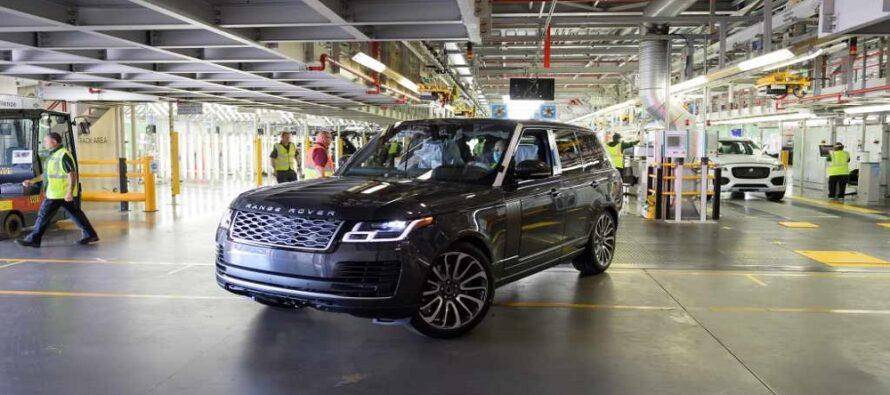 Το πρώτο Range Rover μετά τη λήξη της καραντίνας