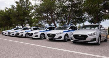 Με 35 νέα περιπολικά Hyundai i30 ενισχύθηκε η Ελληνική Αστυνομία