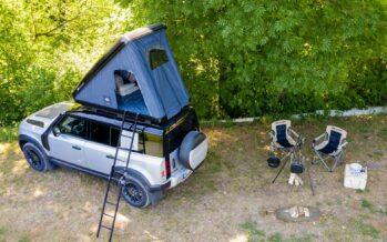 Σκηνή για κάμπινγκ αξίας 3.000 ευρώ από τη Land Rover