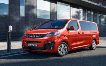 Ιδανικό για πολύτεκνους τo 9 θέσεων ηλεκτρικό Opel Zafira-e Life