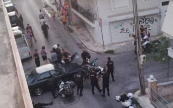 Mercedes συγκρούστηκε με μοτοσικλετιστές της ομάδας ΔΙ.ΑΣ