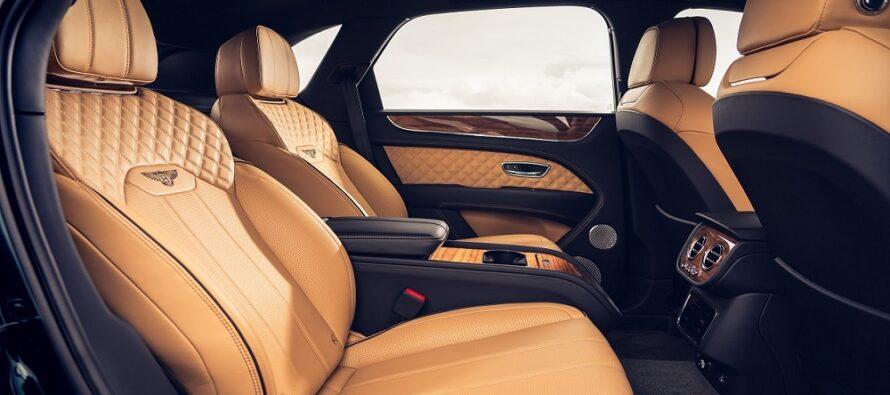 Μασάζ, ψυγείο, tablet και άπλετοι χώροι για τους πίσω επιβάτες της Bentley Bentayga