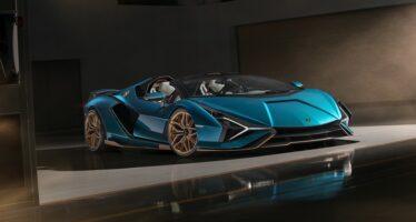 Ξεπούλησε πριν παρουσιαστεί η νέα Lamborghini Sian Roadster (video)