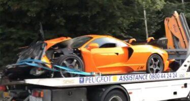 Πρώην πιλότος της Formula 1 τράκαρε μια σπάνια McLaren