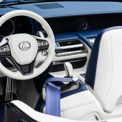 Lexus LC 500 Convertible Regatta Edition (9)