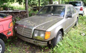 Πετρελαιοκινητήρας παλιάς Mercedes ξυπνάει μετά από 16 χρόνια