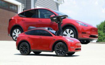 Το Tesla που μπορούν να το οδηγήσουν παιδιά! (video)