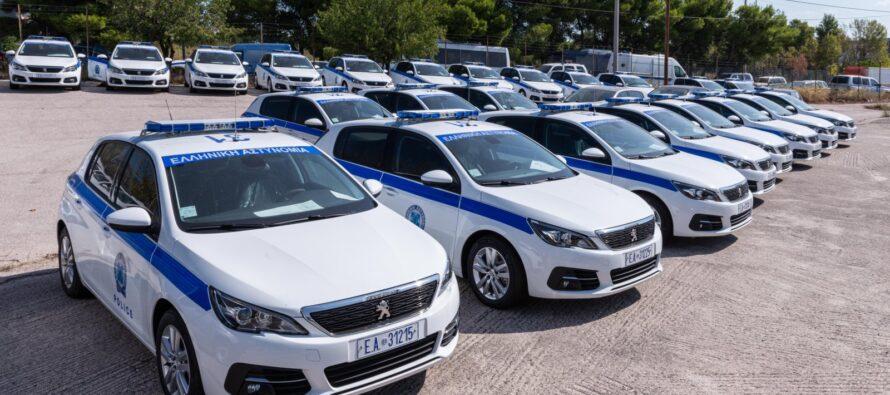 Τα 62 νέα οχήματα της Ελληνικής Αστυνομίας