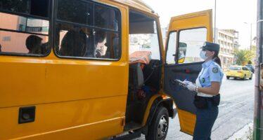 Σχολικά λεωφορεία-78 παραβάσεις εντόπισε η Τροχαία (video)