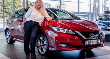 Η Nissan κατασκεύασε 499.999 συν ένα Leaf (video)