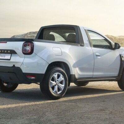 Dacia Duster pickup (1)