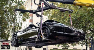 Το πιο ακριβό τρακάρισμα με δυο Ferrari και μια BMW
