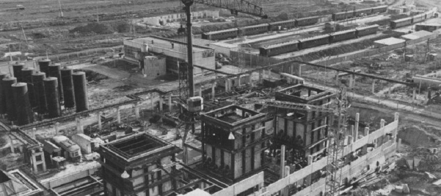 Lada: Το πρώτο εργοστάσιο που χτίστηκε με τη χρήση ελικοπτέρων