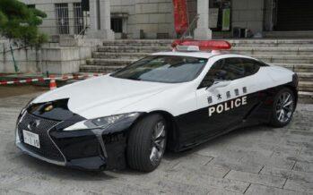 Με 478 ίππους το περιπολικό Lexus LC 500 (video)