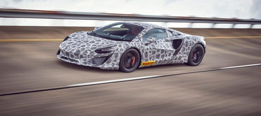 Έρχεται η πρώτη υβριδική McLaren