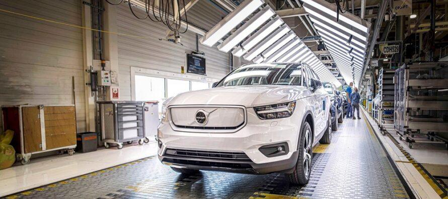 Πόση αναμονή υπάρχει αν παραγγείλεις το ηλεκτροκίνητο Volvo XC40 Recharge;