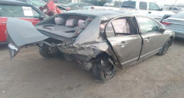 Η ζημιά ενός Honda που το τράκαραν με 219 χλμ./ώρα (video)