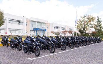 Εκατό μοτοσυκλέτες Honda απέκτησε η Ελληνική Αστυνομία