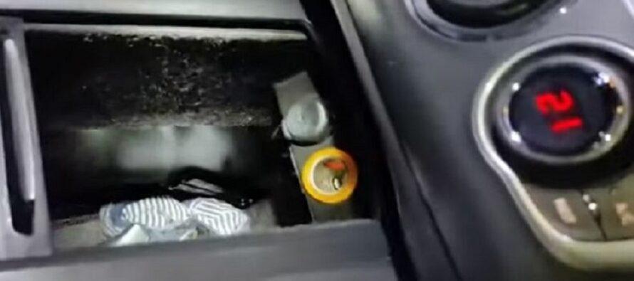 Όπλα και ναρκωτικά σε κρύπτη αυτοκινήτου που ανοίγει με ηλεκτρικό μηχανισμό! (video)