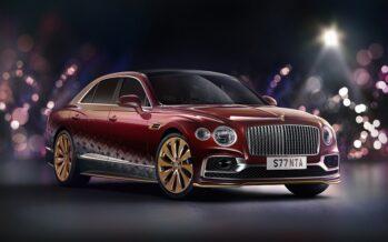 Το έλκηθρο της Bentley δεν το σέρνουν τάρανδοι αλλά 550 ίπποι