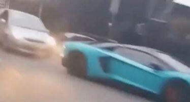 Επικηρύχτηκε οδηγός που τράκαρε και εγκατέλειψε Lamborghini (video)